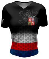 Training Tshirt - dámské tréninkové tričko CZECH