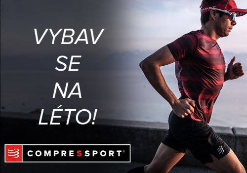 Vybav se na léto se značkou COMPRESSPORT!