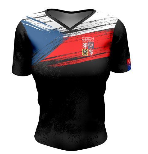 Training Tshirt - dámské funkční tričko CZECH 2021