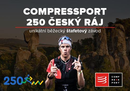 COMPRESSPORT 250 ČESKÝ RÁJ! Nový běžecký štafetový závod.
