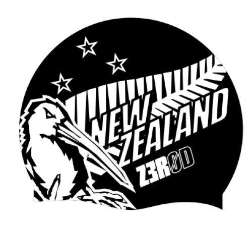 Plavecká čepice ZEROD - New Zealand