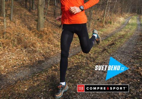 """RECENZE """"SvětBěhu"""": Běžecké kompresní kalhoty Trail Under Control Full Tights"""