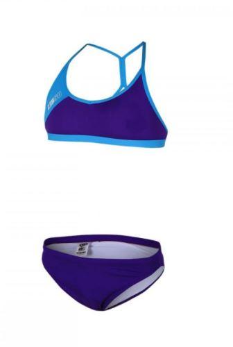 Dvoudílné plavky ZEROD - Training Purple/Atoll