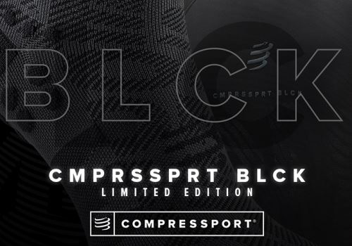 Limitovaná kolekce BLACK EDITION 2020 od značky COMPRESSPORT je tady!