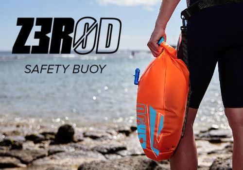 SAFETY BUOY: Ideální partner pro trénink na otevřené vodě!