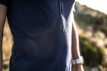 Trail Half-Zip Fitted SS Top